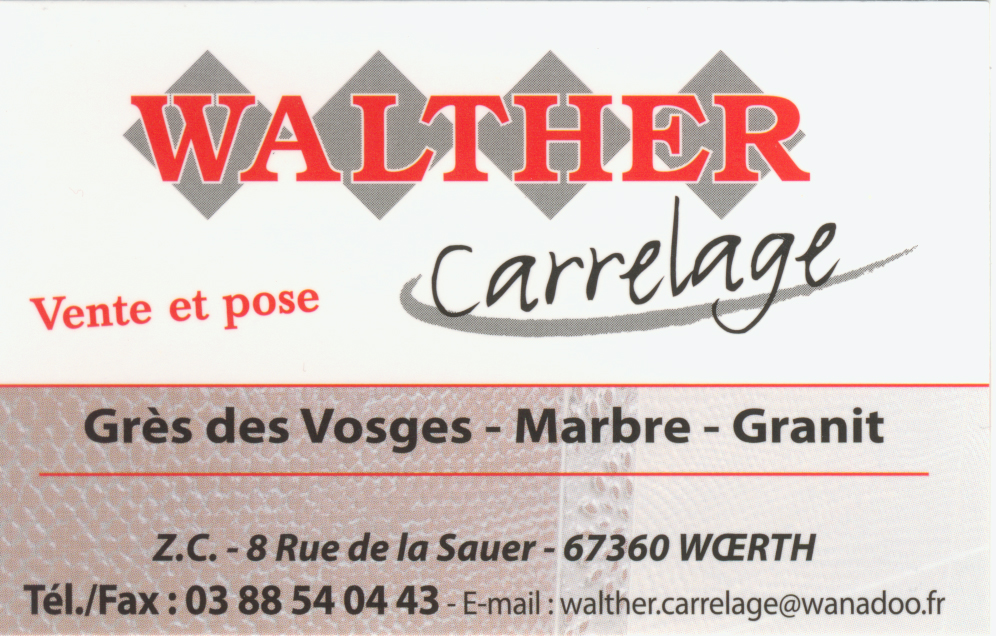 Walther Carrelage